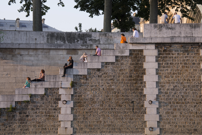 Sunset Wall - Paris - 9580