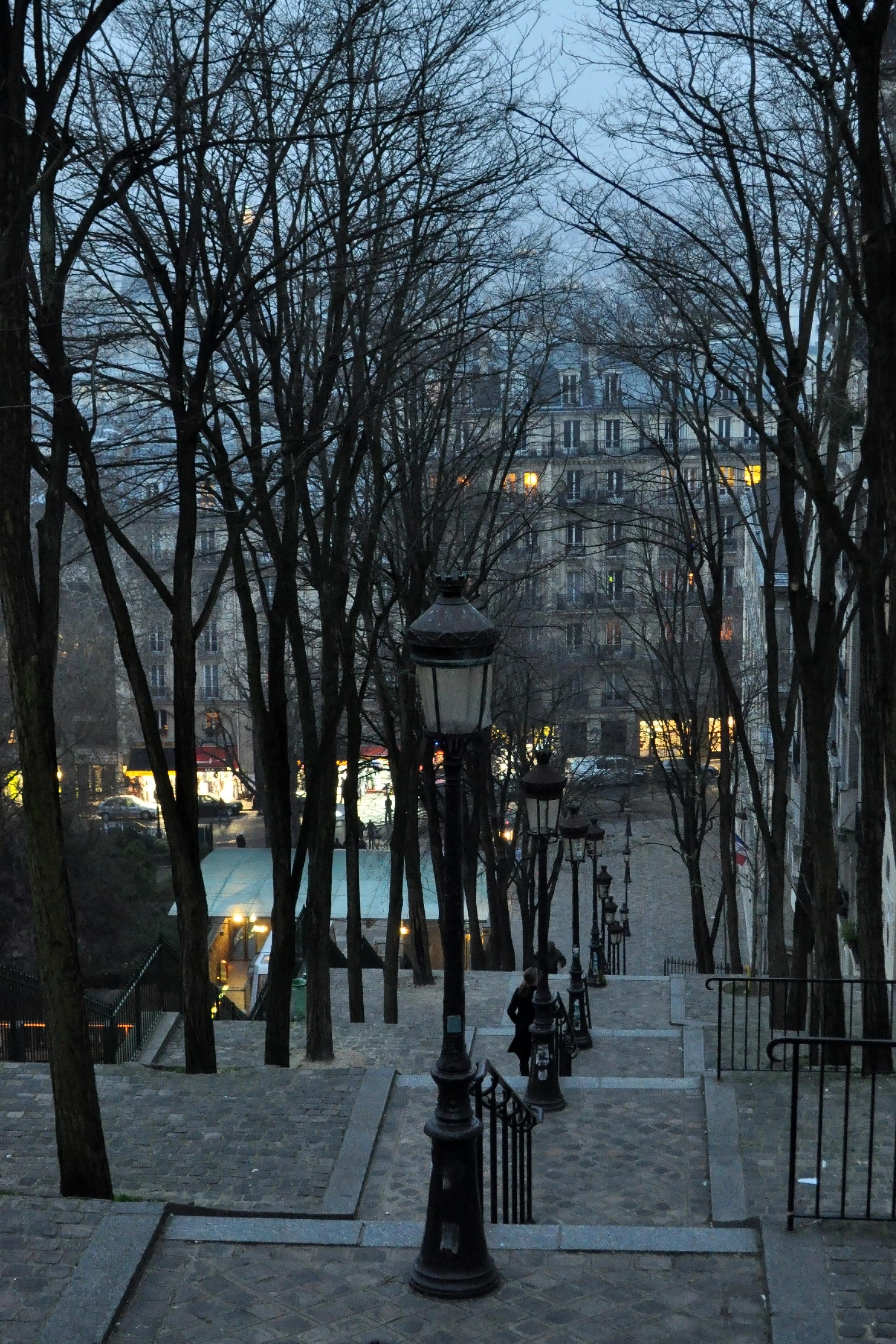 Montmartre in the Winter - Paris - 0043